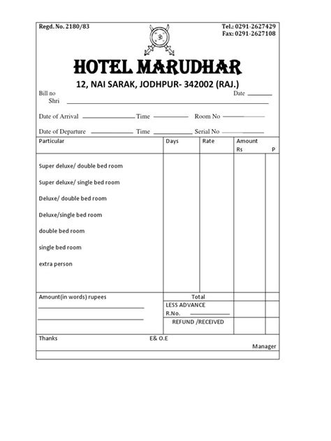 lodge bill format 4 bahamas schools free download invoice format in excel invoice format