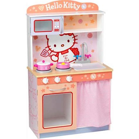 hello kitty kitchen set hello kitty modern kitchen play set walmart