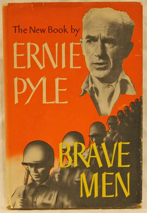Brave Men By Ernie Pyle  Hardcover  Second Edition