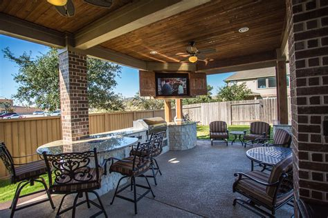 Best Backyard Patios by Custom Covered Outdoor Patio Such A Unique Tongue