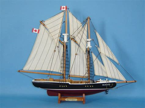 Sailboats Nova Scotia by Buy Wooden Bluenose Model Sailboat Decoration 17 Inch