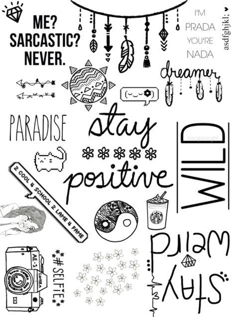 Tumblr Binder Cover Templates Emoji by Binder Insert Tumblr