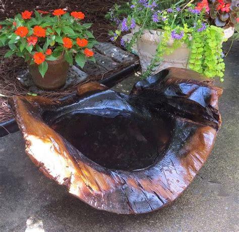 natural teak ground bird bath large ground baths unique birdbath  birdhouse chick