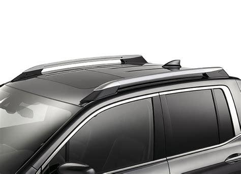 honda ridgeline roof rails silver  tz