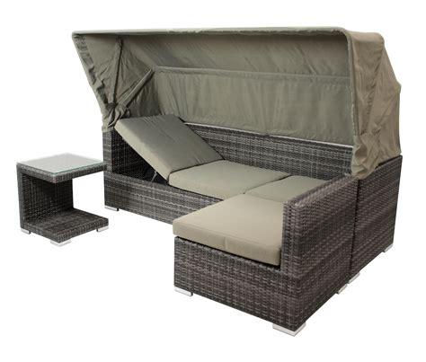 lounge gartenmöbel 2 wahl loungeset sitzgruppe liege gartenm 246 bel lounge manacor alu