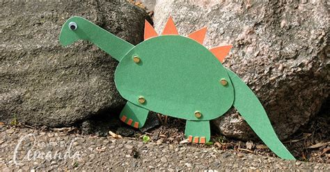 movable dinosaur craft  great craft  boys  girls alike