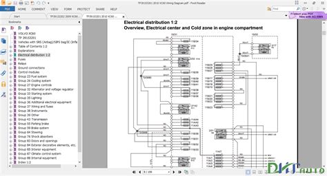 Volvo Wiring Diagrams Automotive Library