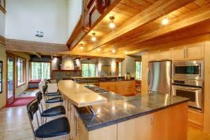u shaped kitchen designs with island 84 custom luxury kitchen island ideas designs pictures