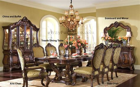 spanish  mediterranean dining room chairs chair pads