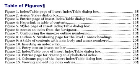 Other types of indexes Apache OpenOffice Wiki