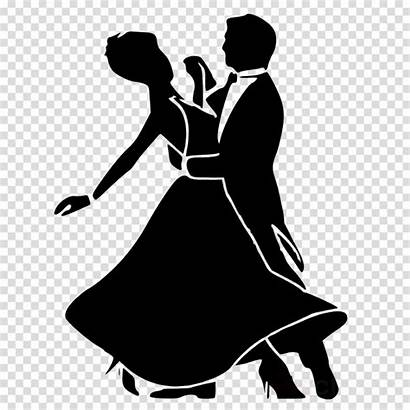 Ballroom Clipart Dance Cartoon Silhouette Dancing Salsa