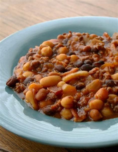 crock pot baked beans bananza recipe