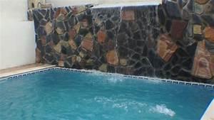 Piscine Avec Cascade : piscine avec cascade algerie youtube ~ Premium-room.com Idées de Décoration