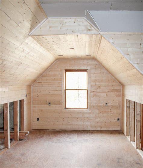 transforming  unused attic   amazing office space