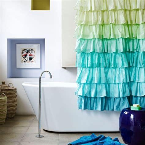 colourful blue and green bathroom summer colour schemes