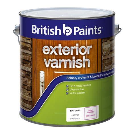 british paints  exterior clear gloss varnish bunnings