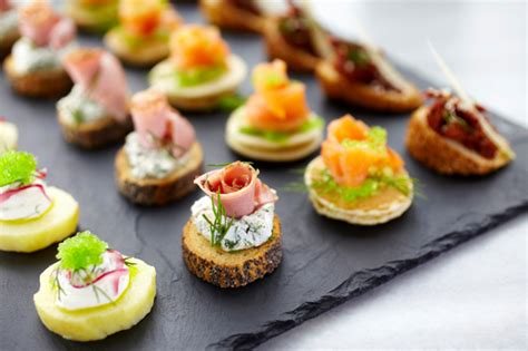 m canapes top 5 summer cocktails canapés silver