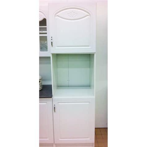 meuble de cuisine pour four meuble colonne four encastrable dina 205 cm