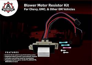 Blower Motor Resistor Complete Kit With Harness Replaces