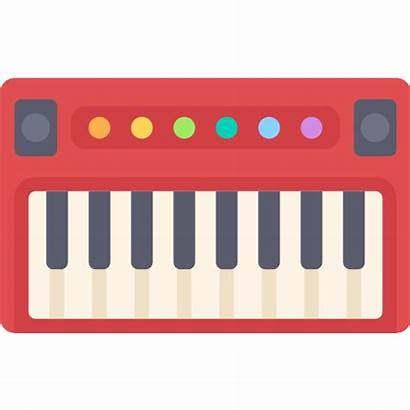 Icon Keyboard Synthesizer Piano Musical Electronic Instrument