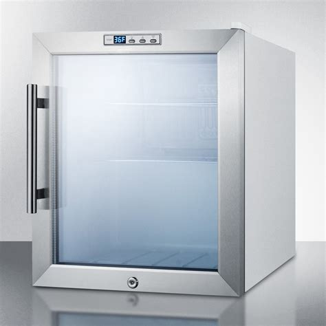 scrl summit  compact display refrigerator