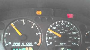2001 Chevy Cavalier Warning Lights
