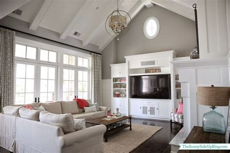lowdown on the vaulted ceiling paint colors vaulted