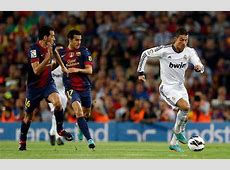 Barcelona 22 Real Madrid Cristiano Ronaldo and Lionel