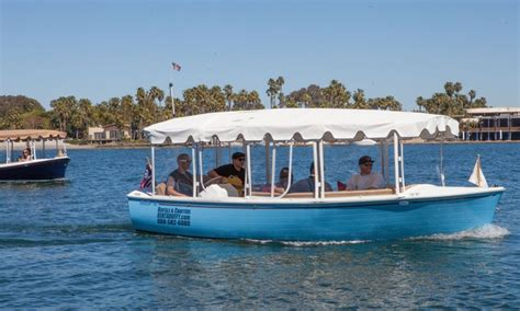 Boats To Rent San Diego 90 minute electric boat rental duffy of san diego groupon