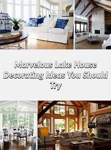 Awesome, 25, Marvelous, Lake, House, Decorating, Ideas, You