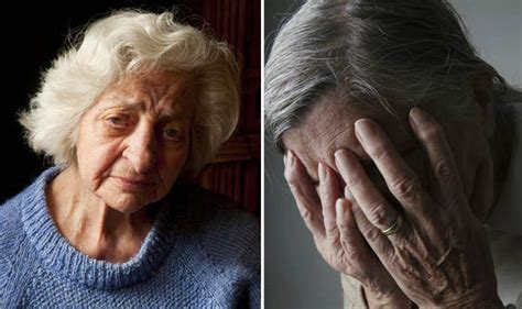 elderly people  suffer depression
