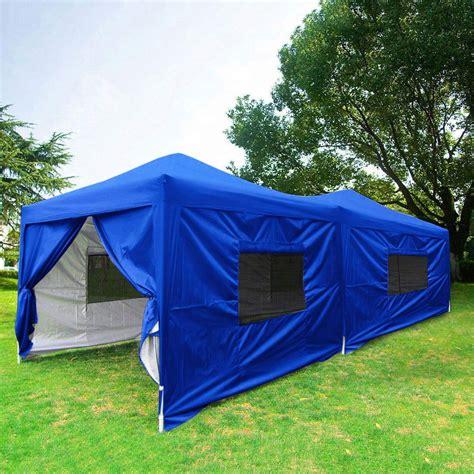 quictent  easy pop  canopy instant party wedding tent waterproof   sidewalls roller