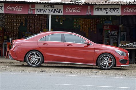 The car is available with both petrol and diesel engine options. Mercedes-Benz CLA 45 AMG India review, test drive - Autocar India
