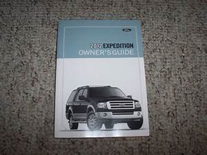 2012 Ford Expedition Suv Owner Manual User Guide Xl Xlt
