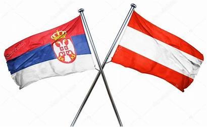 Serbia Flag Austrian 3d Rendering Depositphotos