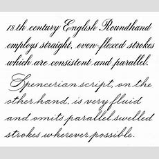 English Roundhand & Spencerian Script  Calligraphy Discussions   Pen And Ink Pinterest