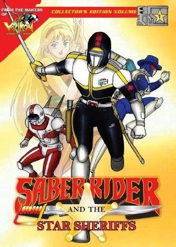 Saber Rider and the Star Sheriffs | Anime-Planet