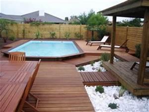 comment installer et amenager une piscine semi enterree en With terrasse piscine semi enterree 3 comment amenager les alentours de sa piscine semi enterree