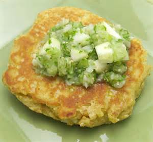 masa cakes with salsa verde recipe eat this