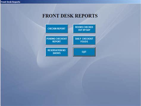 hotel front desk system hotel management software hotel software systems