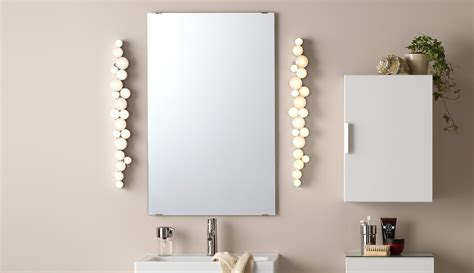 ikea bathroom mirror cabinet with light bathroom lighting bathroom lights ikea