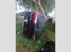 Truck carrying new Toyota Corollas crashes off motorway