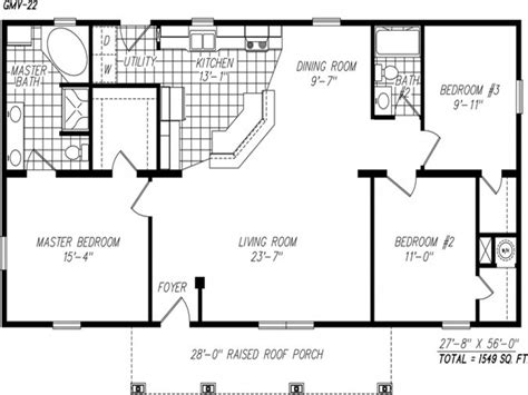 simple  story floor plans single story open floor plans popular  story house plans