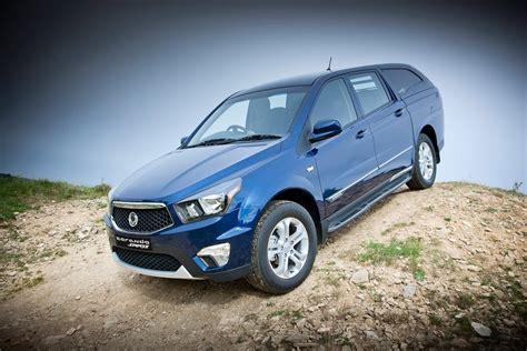 New SsangYong Korando Sports Pick-up Truck-SUV Hybrid ...