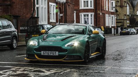 Aston Martin Gt12 Loud Revs And Accelerations In London