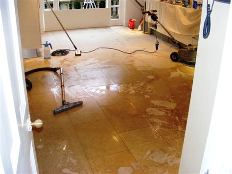 scrub kitchen floor cleaning limestone floor tiles in hertfordshire 2131