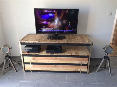 plateau de bureau sur mesure un meuble télé industriel à petit prix bidouilles ikea