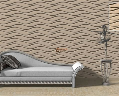 textured architectural  wall panels accent haus