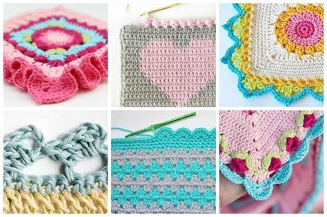 creative crochet border ideas ideal