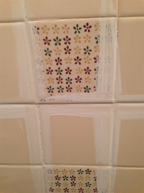 bathroom paint and tile ideas remodelaholic a 170 bathroom makeover with painted tile